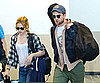 Slide Picture of Kristen Stewart and Robert Pattinson at LAX