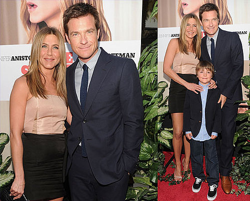 Jennifer Aniston and Jason Bateman on The Switch Red Carpet