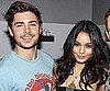 Slide Picture of Zac Efron and Vanessa Hudgens at Memphis in NYC