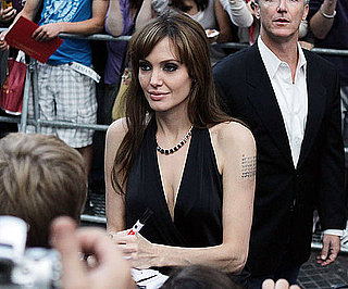Slide Picture of Angelina Jolie at German Premiere of Salt