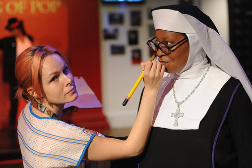 Pictures of Whoopi Goldberg as Mother Superior in Sister Act Musical