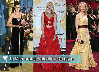 Celebrities Wearing Iconic Valentino Dresses