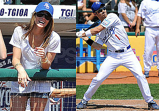 Pictures of Ashley Greene and the Jonas Brothers at a Celebrity Softball Game