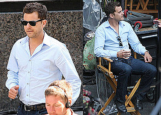 Pictures of Joshua Jackson on the Set of Fringe in Vancouver 2010-08-20 05:00:00