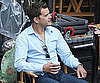 Slide Picture of Joshua Jackson on The Fringe Set in Vancouver