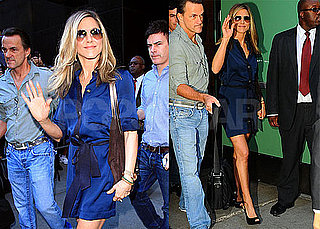 Pictures of Jennifer Aniston Arriving at Good Morning America