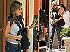 Pictures of Jennifer Aniston Leaving Trattoria Dell'Arte After Lunch in NYC