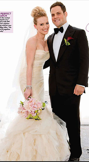 Hilary Duff's Vera Wang Wedding Dress