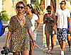 Pictures of Beyonce Knowles and Jay-Z on Vacation in Italy