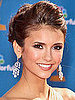 Nina Dobrev Makeup at 2010 Emmy Awards