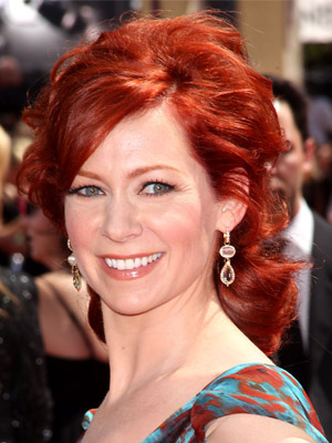 Carrie Preston at 2010 Emmy Awards