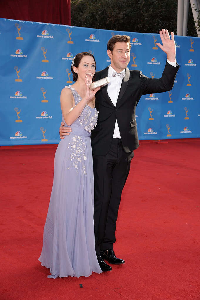 Pictures of John Krasinski and Emily Blunt