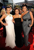 Ladies on the 2010 Primetime Emmy Awards Red Carpet
