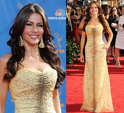 Modern Family's Sofia Vergara at 2010 Primetime Emmy Awards