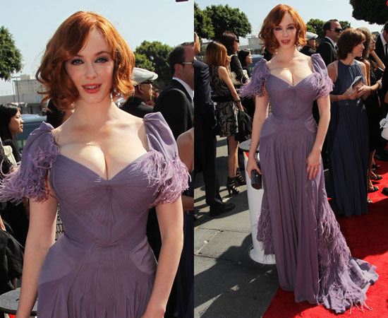 Christina Hendricks at 2010 Emmy Awards 2010-08-29 16:49:41