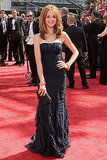 Jayma Mays in Burberry