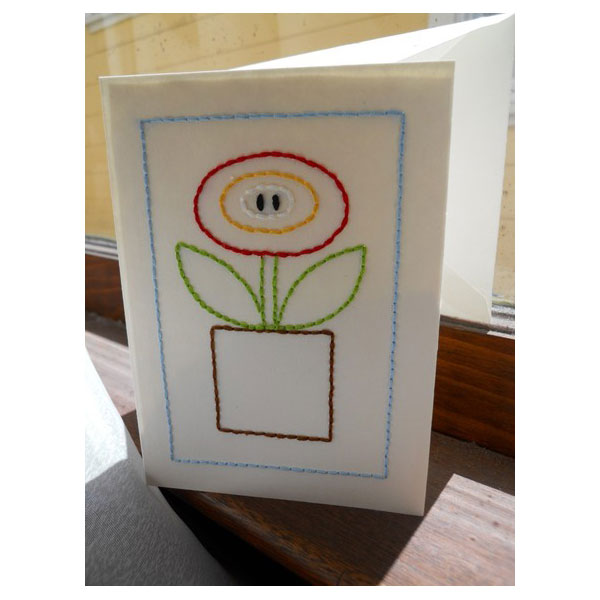 Fire Flower Card ($18)