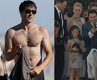 Pictures of Shirtless Stephen Moyer and Anna Paquin On Their Wedding Day and Weekend