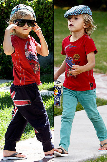 Celebrity Kids' Inspiring Back-To-School Style