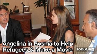 Video of Angelina Jolie in Bosnia