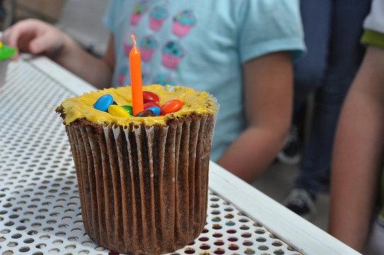 Giant Cupcake Birthday Cakes