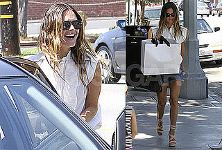 Pictures of Rachel Bilson Meeting Up With Friends For Lunch After Her Bikini Vacation