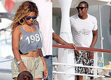 Pictures of Jay Z and B