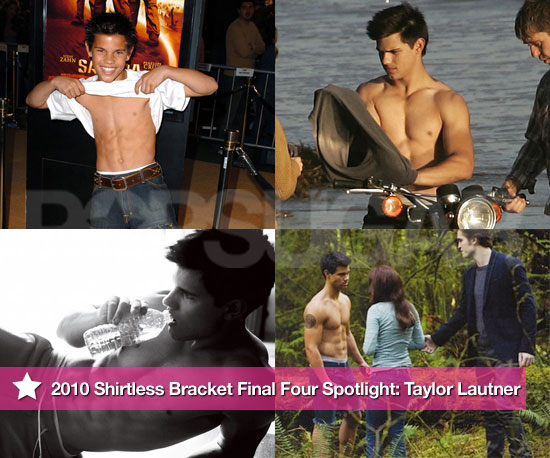 Pictures of Shirtless Taylor Lautner