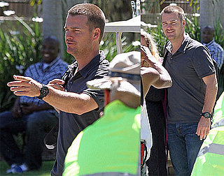 Pictures of Chris O'Donnell on the Set of NCIS: Los Angeles