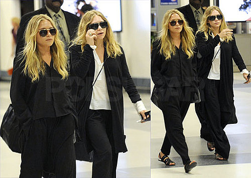 Mary Kate and Ashley Leave LA to Join Us For NY Fashion Week