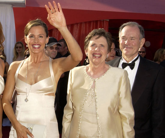 Jennifer Garner brought her parents to the show in 2003.