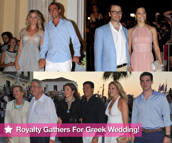 European Royalty at Greek Wedding Pre-Party For Prince Nikolaos and Tatiana Blatnik