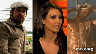 Video of Brad Pitt in Spike Lee Documentary, Kim Kardashian Talking About Dating Justin Bieber
