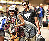 Slide Picture of Zac Efron and Vanessa Hudgens Leaving Hawaiian Vacation