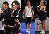 Bradley Cooper and Bar Rafaeli Play Tennis with Rafael Nadal, Maria Sharapova, Roger Federer