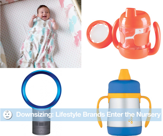 Downsizing: Big Lifestyle Brands Target Baby With Products