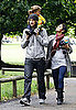 Pictures of Halle Berry and Gabriel Aubry With Daughter in London
