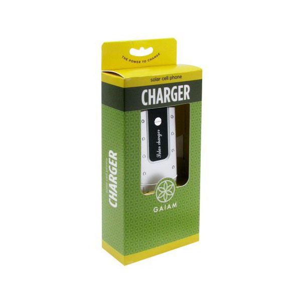 Giam Solar-Powered Cell Phone Charger ($22.50)