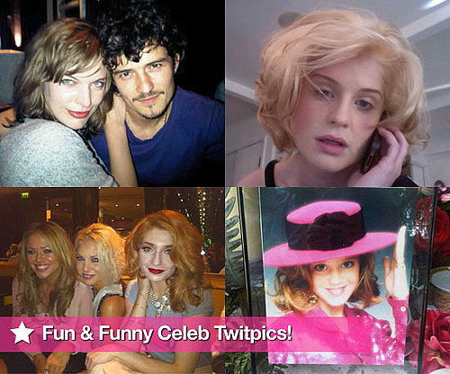 Fun and Funny Celebrity Twitter Photos of Lauren Conrad, Lady Gaga, and Eva Longoria