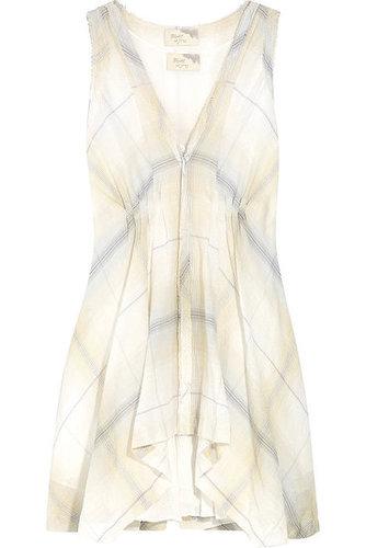 Elizabeth and James|Carol checked cotton-blend dress|NET-A-PORTER.COM