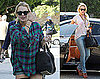 Pictures of Lindsay Lohan Wearing Short Shorts to Court Following a Freewheeling Weekend