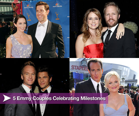 5 Emmy Couples Celebrating Relationship Milestones