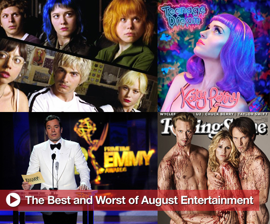 Buzz Backtrack: Best and Worst of August Entertainment
