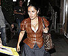 Picture Slide of Salma Hayek Out in LA