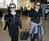 Slide Picture of Anna Paquin and Stephen Moyer at Heathrow