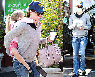 Pictures of Jennifer Garner Giving Violet Affleck a Piggyback Ride During a Day Out in LA
