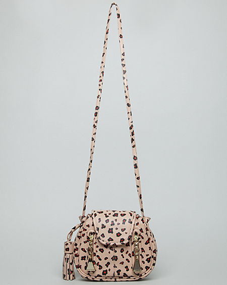 Animal print bags are all the rage — this See by Chloe Cherry Shoulder Bag ($360) is roar-ific but dainty.