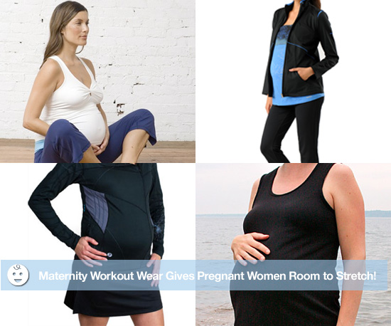 Maternity Workout Wear Gives Pregnant Women Room to Stretch!