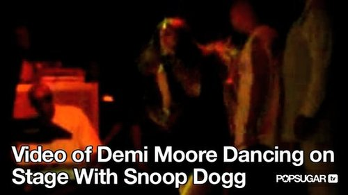 Video of Demi Moore Dancing on Stage With Snoop Dogg