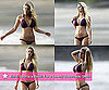 Pictures of Heidi Montag Sporting a Bikini For a Lonely Beachside Stroll